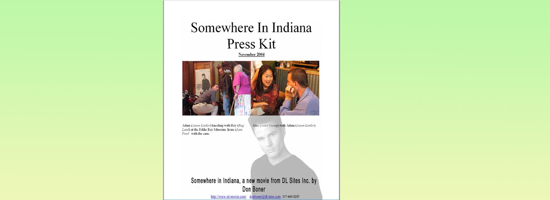 Somewhere in Indiana Presskit